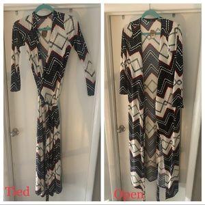 Dresses & Skirts - Floor Length Wrap Dress